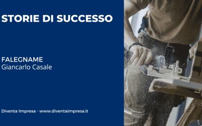 Falegname – Giancarlo Casale   STORIE DI SUCCESSO